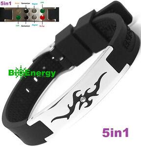 Jade-Magnetic-Energy-Germanium-Power-Bracelet-Health-5in1-Bio-Armband-BAND