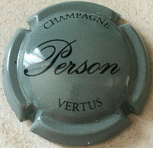Capsule de champagne PERSON 2. gris foncé et noir