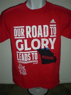 Fanartikel Weitere Ballsportarten GemäßIgt New-minor-flaws St Louis Cardinals 2012 Jugendliche L Adidas T-shirt Auf Dem Internationalen Markt Hohes Ansehen GenießEn