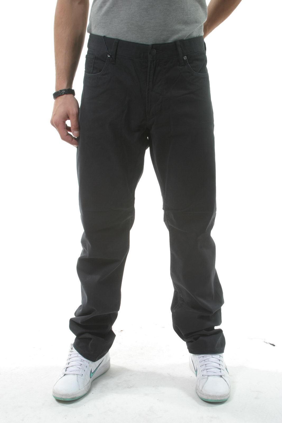 Pantaloni Armani Jeans AJ Jeans Trouser Cotone men blue V6J93JY 95