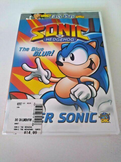 Sonic The Hedgehog Super Sonic Vhs 2002 For Sale Online Ebay