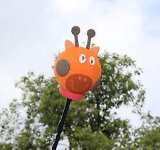 Cute Orange Cheeky Giraffe Antenna Balls Car Aerial Ball Antenna Topper Pen Ball