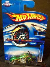 HOT WHEELS 2006 #183 -1 SCORCHIN SCOOTER GREN MAL 06 CA