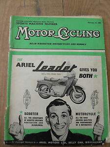 Motor-Cycling-Feb-039-59-Touring-Dr-Jos-Bailey-Machines-of-039-59-Gustavus-Green