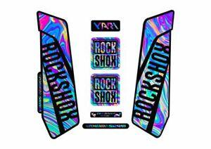 Rock Shox SEKTOR 2016 Fork Decal Mountain Bike Cycling Sticker Oil Slick 1