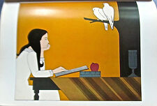 Will Barnet  Introspection Poster -Offset Lithograph Unsigned 16x11