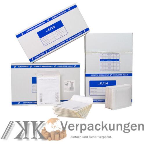 Luftpolster Versandtaschen Luftpolstertaschen A1 B2 C3 D4 E5 F6 G7 H8 I9 K10 CD