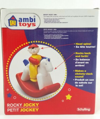 Rocky Jocky Ambi Toys Infant Childrens Learning Noise Maker Toy Rocking Horse