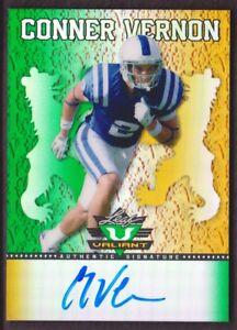 2013-Leaf-Valiant-Draft-Football-BA-CV1-Conner-Vernon-AUTO-Duke-Blue-Devils