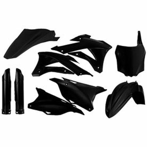 Kawasaki KX100 KX85 2014–2020 Acerbis Full Plastic Kit Black