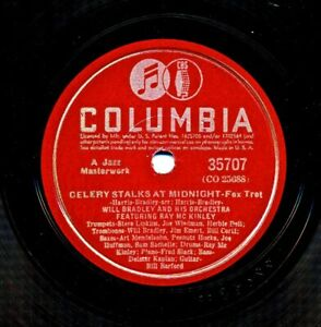 WILL-BRADLEY-and-his-Orchestra-on-1940-Columbia-35707-Celery-Stalks-at-Midnite