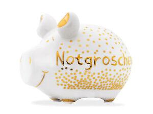 Notgroschen-Lujo-Hucha-Hucha-12cm-Motivo-Money-Cerdo-Pequeno