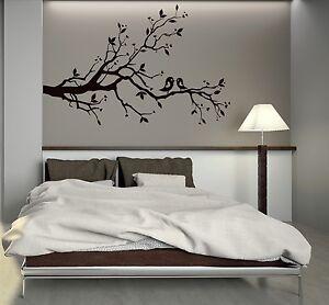 Wall Decal Tree Branches Birds Love Room Decoration Romantic Vinyl