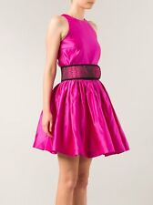 £2895 CHRISTOPHER KANE Sleeveless Pink Pleated Dress uk 8