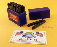 27 Pc Letter Stamp Alphabet Steel Punch Set Die Marking Engrave Metal 3/16 5mm