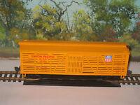 Mantua Ho Scale 735-003 Heavy 41' Wood Stock Car Up