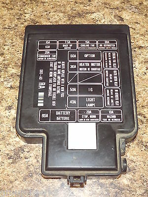 honda fuse box price 92 95 oem usdm honda civic sr3 eg eg6 eg9 ej1 engine bay fuse box  92 95 oem usdm honda civic sr3 eg eg6