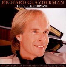 RICHARD CLAYDERMAN The Prince Of Romance 2CD BRAND NEW Greatest Love Songs