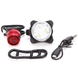 1X-Set-di-luci-per-fanali-posteriori-a-LED-per-bici-da-bicicletta-ricaricab-HK
