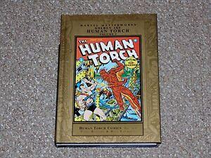 Marvel-Masterworks-88-Golden-Age-Human-Torch-Volume-2-HC-DJ-Graphic-Novel