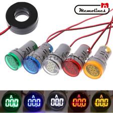 0 100a Ac 220v Ammeter Digital Display Monitor Current Ampere Measuring Meter