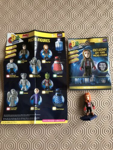 Character Building DOCTOR WHO AMY POND Figurine Neuf Et Scellé