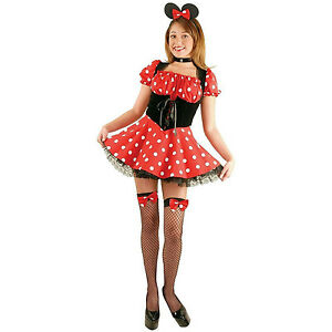 Charades-Women-039-s-Sexy-Little-Miss-Mouse-Minnie-Adult-Costume-Size-Large-11-13