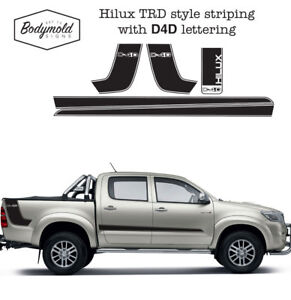 Toyota-Hilux-TRD-style-decal-kit-with-D4D-lettering