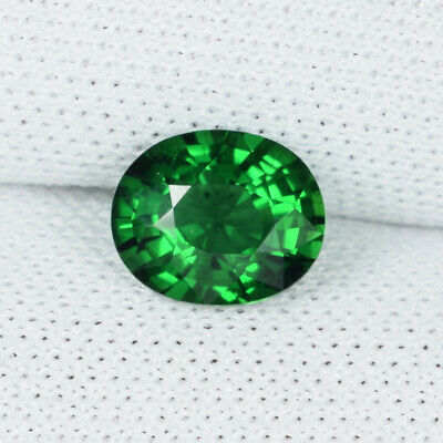 5.4 x 4 mm Oval - Old Stock Rare Green Chrome Tourmaline Natural 0.38 Ct