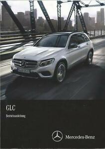 MERCEDES-GLC-Klasse-Betriebsanleitung-2016-Bedienungsanleitung-X253-Handbuch-BA