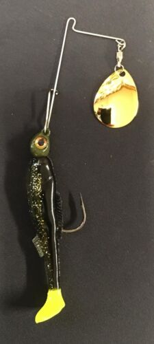 Rootbeer 1//4oz Saltwater Redfish Spinner bait Cocahoe  FREE SHIPPING!!!!
