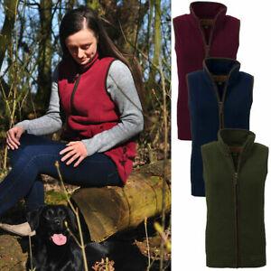 Ladies-Game-Penrith-Fleece-Gilet-Sizes-XS-XL-Country-Walking-Hiking-Clothes