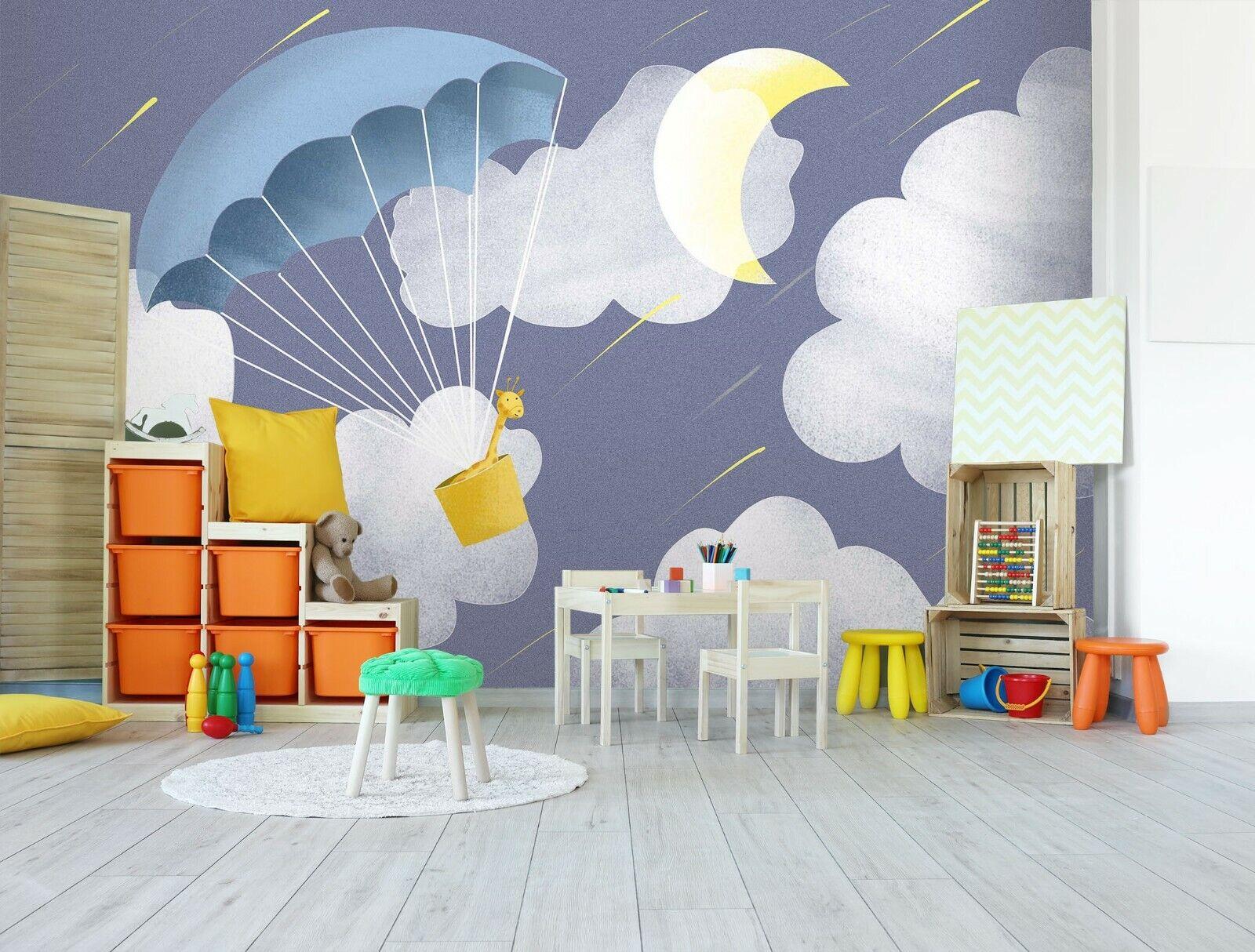 3D CKunstoon Balloon R283 Business WandPapier Wand Mural Self-adhesive Commerce An