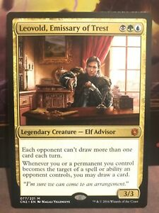 Emmisary of Trest Take the Crown Conspiracy Leovold MTG