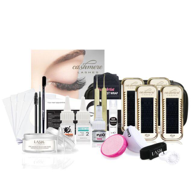 Cashmere Lashes Luxury Kit Professional Individual Permanent Eyelash Extension
