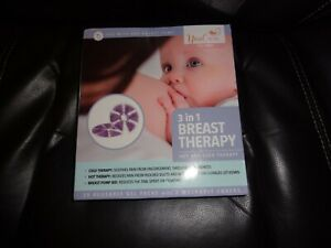 Youcare Gel Breast Pads 3 In 1 Breastfeeding Hot Cold Therapy Reusable 2ct New Ebay