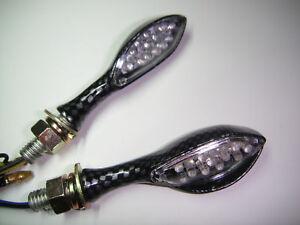 ►2X LED TURN SIGNALS SPIDER LIGHT DUCATI 1098,848,Desmosedici RR,Hypermotard,ST2