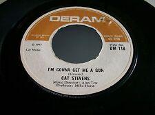 Cat Stevens,I'm Gonna Get Me A Gun/School Is Out, (Deram 1967)