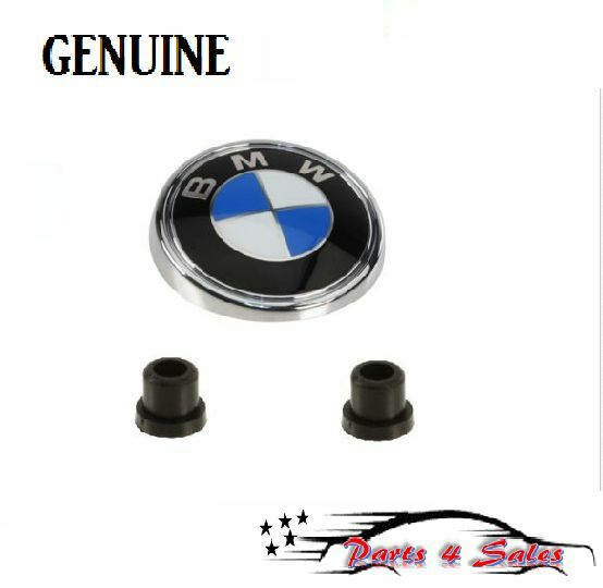 Hatch Shock Mounting Grommet: NEW BMW E83 X3 GENUINE Rear Hatch Emblem W/ Mounting