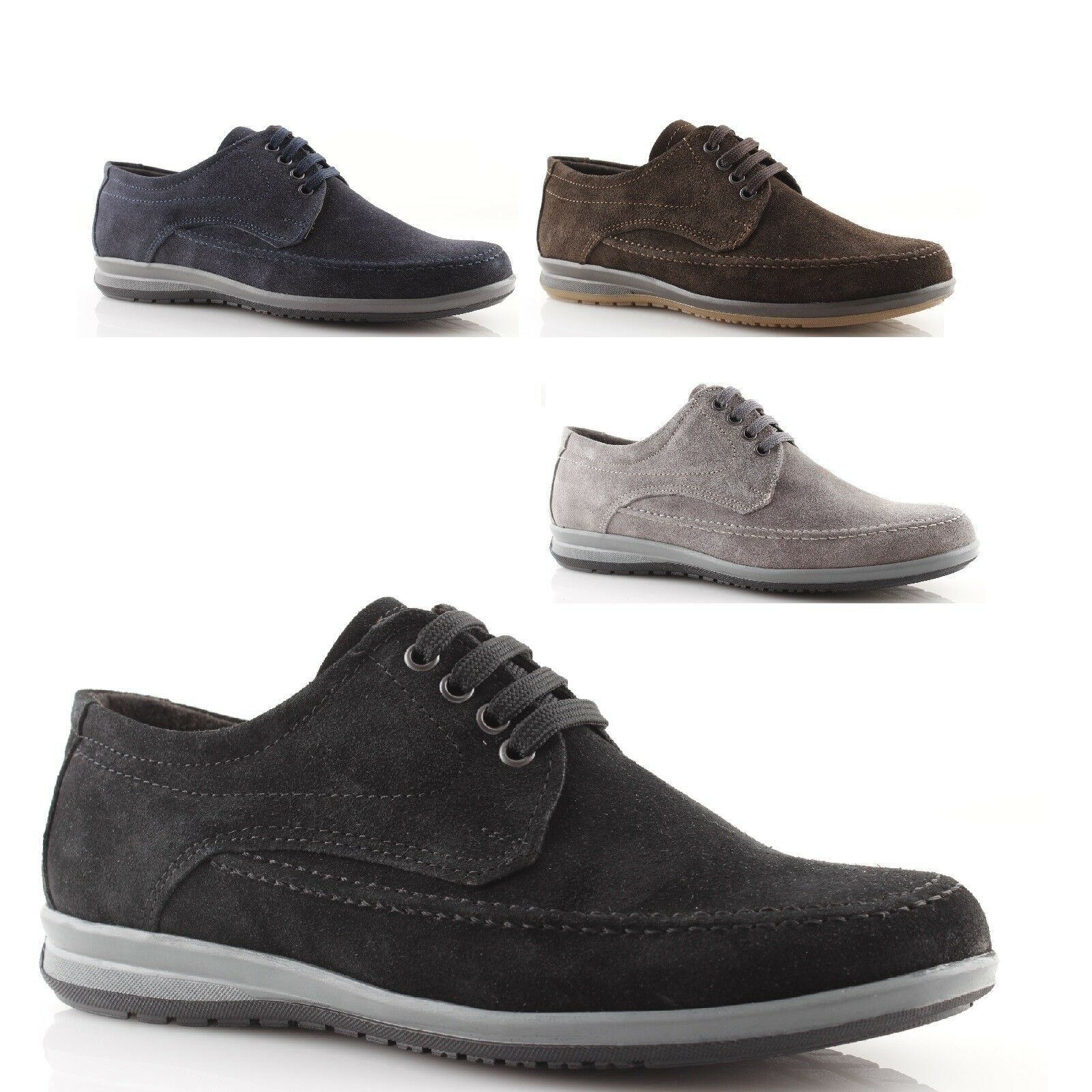 Men's shoes for soft winter loafers leather suede italian