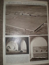 Photo article the Alamein Memorial Egypt due to open 1954 ref X3