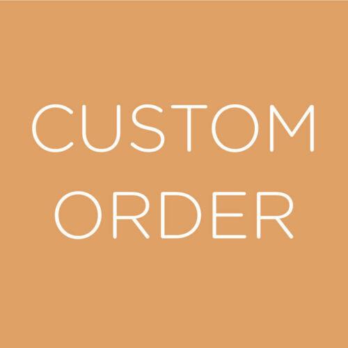 Custom order faire 5981 envoyer Livraison Spéciale