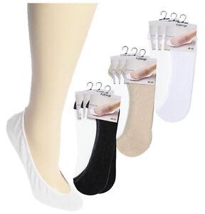 Unsichtbar Im Schuh 3 Paar Beige SchüTtelfrost Und Schmerzen 35-38 Verantwortlich Baumwollfüsslinge