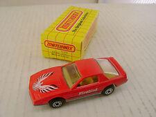 1983 MATCHBOX SUPERFAST #12 RED PONTIAC FIREBIRD S/E NEW IN BOX