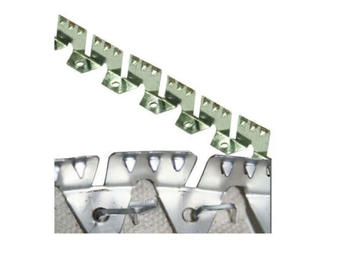 three-tooth Upholstery- USA Curve-Ease 100/' Heavy FLEXIBLE METAL TACK STRIP