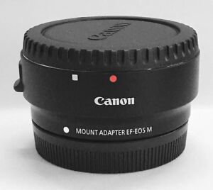 NEW-Original-Mount-Adapter-EF-EOS-M-Ring-Fit-EF-lens-to-EOS-M-for-Canon-Camera