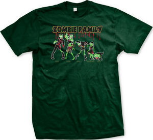 deba37366 Zombie Family Dad Mom Son Daughter Dog Blood Undead Walking Brains ...
