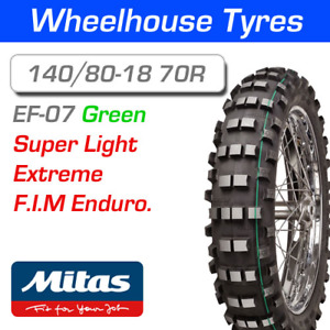 Mitas Enduro EF-07 Super Light 140/80-18 Motorcycle Rear Tire