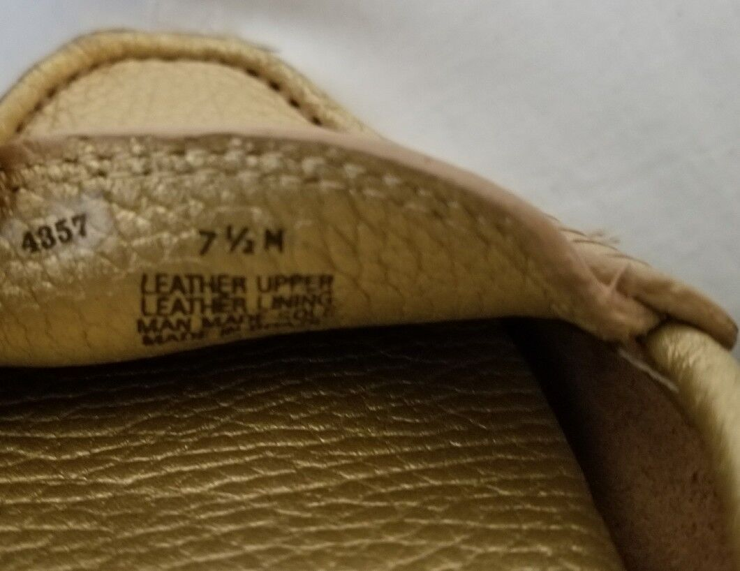 Tory Burch Kendrick Pebbled or Leather Driving Driving Driving Flats Slip On Loafers Taille 7.5 2f4040