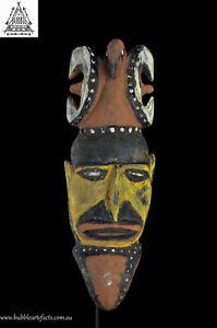 Powerful Magic Balsa Harvest Yam Mask, Northern Abelam, PNG, Papua New Guinea
